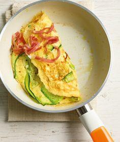 Zucchini-Omelett