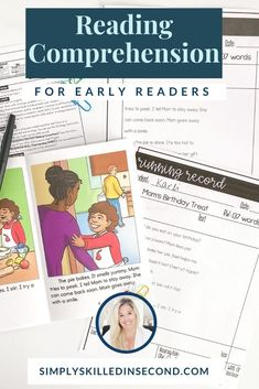 My Reading Comprehension Tab-Its® are an excellent way for your students to hone-in on the important comprehension skills and strategies they need to practice and master. After your Read & Prompt and strategy instruction are completed, let your kiddos practice the skill by completing one of these fun activities. They can be used with any text you are reading with your class; and when completed, they'll fit perfectly into a Guided Reading interactive notebook. FREEBIE INCLUDED! School Fun, First Day Of School, Back To School, Birthday Treats, Mom Birthday, Early Readers, Interactive Notebooks, Guided Reading, Text You
