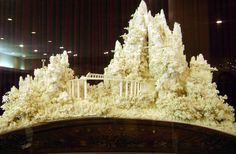 Chinese ivory carving, at the UN headquarters in NYC. Hard to see from the pic, but the detail is mind-blowing. Just stunning!