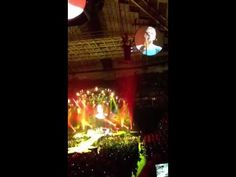 """Coldplay - """"Yellow""""  Coldplay Mylo Xyloto concert in Seattle at Key Arena 2012"""