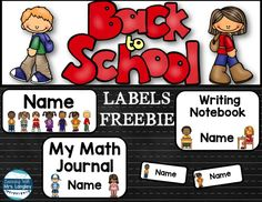 Labels freebie for b