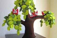 Felt Trees Are Almost Too Cute For Words