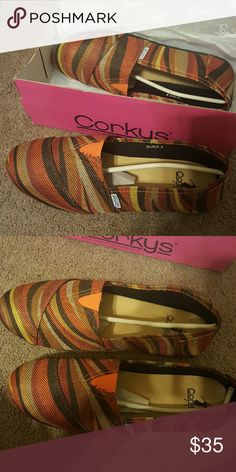Flats Brand new burlap multicolored shoes Shoes Flats & Loafers