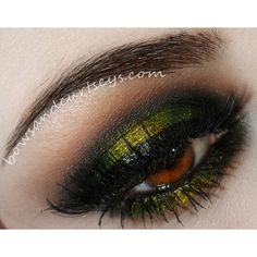 Secret Garden 1. Start off with a quality eyeshadow primer to ensure all day wear and to prevent creasing. 2. Use a black base all over lids to intensify shadows. I used NYX Jumbo Eye Pencil in Black Bean. 3. Apply an olive green shadow on the inner and outer corners of your lids. I used TKB Trading pigment in Taurus Orion. 4. Pat on a shimmery metallic gold on the center and blend in with the green. Makeup Geek's liquid gold works perfectly for this. 5. Darken the inner and outer corners…