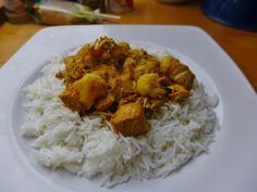 Fertig serviert auf Reis