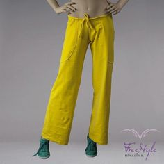 POCKET PANTS YELLOW #moda  #fitnessfashion #long #loosepants #loose #pants #free_style #girl #fashion #like #sexy #fitness #drifit