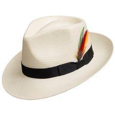 Sombrero del sombrero de paja Panamá Gullport clásico con Sombreros De  Hombres b4aa9d3b5c5