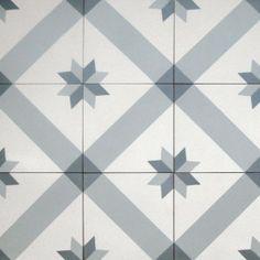 Small Norwegian Star - Tiles from Historiske Fliser Tiled Hallway, Style Tile, Kitchen Tile, Nordic Design, Tile Design, Home And Living, Tile Floor, Flooring, Texture