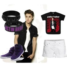 Justin Bieber, created by everyoneisbeautiful15 on Polyvore