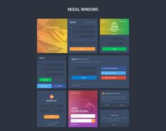 A powerful user interface kit created by UI Chest. Includes more than 1000 carefully crafted elements in 10 different categories that will save your time and increase productivity. Not to mention this fantastic kit comes with both a light & dark version. <br> <br>Grade UI Kit is compatible with both Photoshop, & Sketch.