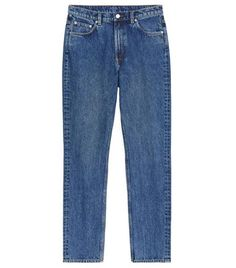 Topshop **Dark Mid Stone Cigarette Jeans By Topshop Boutique Zara Trends, Denim Trends, 2020 Fashion Trends, Spring Fashion Trends, Autumn Fashion, Girly Outfits, Stylish Outfits, French Girl Style, French Girls