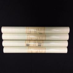 Ashford House Wallpaper Green White Pillow Ticking SA9132 (Lot of 4 Double Rolls #AshfordHouse