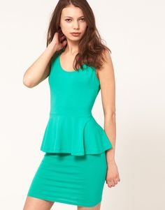 more pretty mint green. love this dress