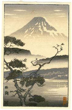 Tsuchiya_Koitsu-No_Series-Lake_Sai_greyscale_postcard-00031209-050121-F12.jpg (796×1200)