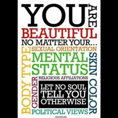 You are beautiful! ❤️