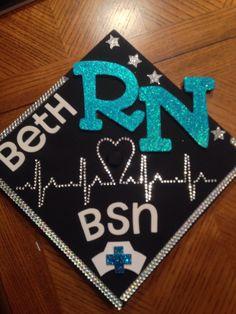 My nursing grad cap! <3