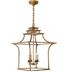 Pagoda Lantern Chandelier!  Something worth Pre-Ordering!