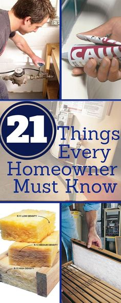 "21 things every homeowner must know - essential tips and tricks to save money, solve problems, and improve your home. get more tips in our new book, <i><a href=""http://www.readersdigeststore.com/100-things-every-homeower-must-know/b/10844217011?utm_source=fhm slideshow"