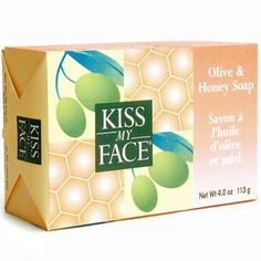 Kiss My Face Olive & Honey Soap: rated 4.4 out of 5 by MakeupAlley.com members.