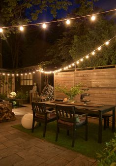 Backyard inspiration for the DIYer including how to hack Restoration Hardware Aspen collection. Lighting, furniture, pizza oven ... it's all here.