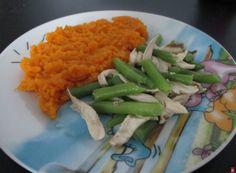 Kuracie so strukovou fazuľkou a batatovým pyré - Jedlá a recepty pre deti - Receptypredeti.eu