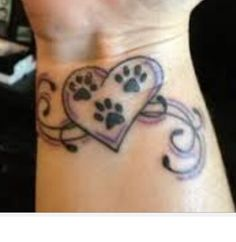 64 Best hearts and paws images in 2019 | Dog tattoos