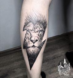Tattoo Galya Ko - tattoo's photo In the style Graphics, Male, Lio Daddy Tattoos, Lion Head Tattoos, Tiger Tattoo, Lion Tattoo, Forearm Tattoos, Future Tattoos, Cool Tattoos, Bracelet Tattoo For Man, Animal Tattoos