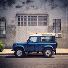 Land Rover Defender 90 Tdi Sw, the cool life
