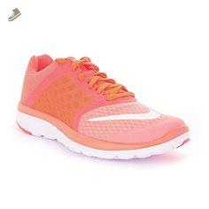 Nike Womens FS Lite Run 3 Running Trainers 807145 Sneakers Shoes (US 6.5, atomic pink white hyper orange 601) - Nike sneakers for women (*Amazon Partner-Link)