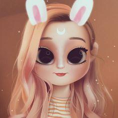 'LDShadowLady' by davexp Cute Girl Drawing, Cartoon Girl Drawing, Cartoon Drawings, Cartoon Art, Girly Drawings, Cute Kawaii Drawings, Cute Cartoon Girl, Cute Girl Wallpaper, Cartoon People