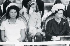 1965-05-14: At the dedication of the British memorial to JFK.