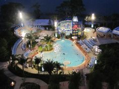 Bay Lake Tower pool -Finally staying here for a couple nights on our next trip! Can't wait! Our home resort.
