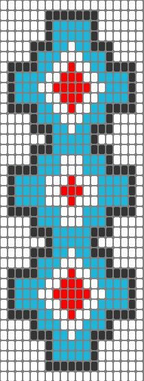 Beadwork Strip 25