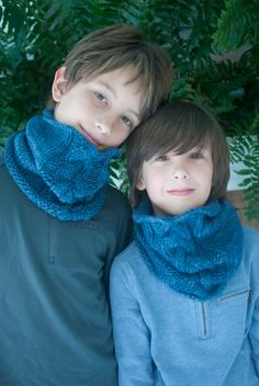 Braided Cowl for Kids - Knitting Crochet Sewing Embroidery Crafts Patterns and Ideas!