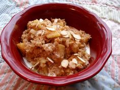 This makes a thick oatmeal so you can add additional water, milk or even applesauce if you like it thinner.