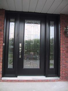Black Single Front Doors elegant shabby chic living room decor have standing wood frame