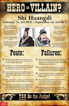 Shi Huangdi World History Facts, History Photos, World History Classroom, Cloud Strife, The Real World, Social Science, Military History, Physical Education, Ancient History