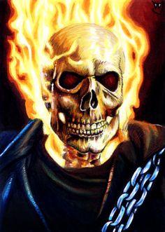 Ghost Rider by Trev Murphy