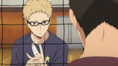 I knowww there's probably already plenty of gifs/screenshots of this moment already on pinterest and I KNOW I usually fangirl over kags and hinata rather than tsukki but oh my fucking god can you believe him jfc