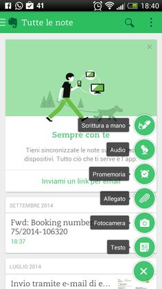 Androidizziamoci, Android alla portata di tutti: Evernote per Android cambia veste grafica!