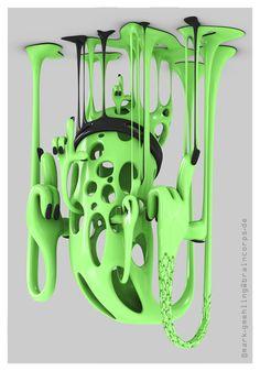 3D Character Design Radness - Mark Ghemling