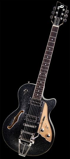 Duesenberg Guitars Starplayer TV Black Sparkle // had one in silver sparkle all those years ago..