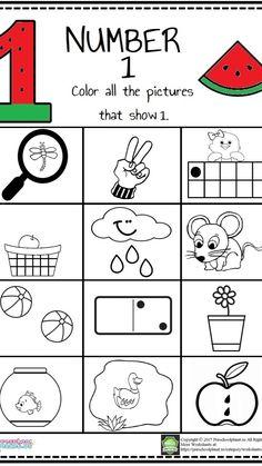 Kindergarten Coloring Pages, Kindergarten Math Activities, Montessori Math, Preschool Kindergarten, Preschool Learning, Kindergarten Worksheets, Math Resources, Math Games, Preschool Crafts
