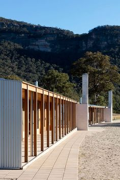 The architecture of stewardship: Cranbrook School Wolgan Valley Wood Architecture, School Architecture, Environmental Remediation, Natural Bowls, Burns, Rammed Earth Wall, Facade Design, Blue Mountain, National Parks