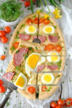 Wytrawny mazurek – wielkanocna tarta Cobb Salad, Food, Pies, Essen, Meals, Yemek, Eten