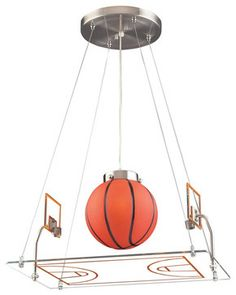 Basketball Court Pendant