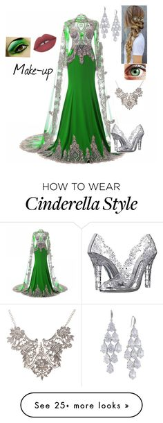 """""""Slytherin"""" by gueng on Polyvore featuring Carolee and Dolce&Gabbana"""