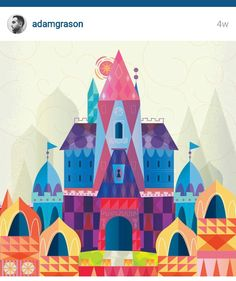 "Adam Grason ""it's a small world"" themed art"