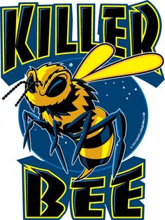 Killer Bee T-shirt Design