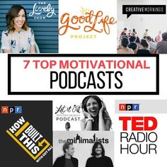 Podcasts are a great way to get a daily dose of motivation. Here are the top 7 motivational podcasts. fitnessista.com